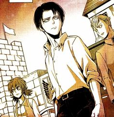 Levi Isabel and farlan a choice with no regrets attack on titan