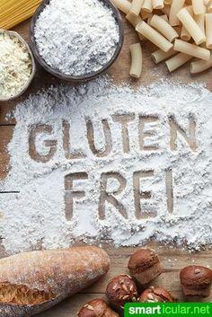 Welches glutenfreie Mehl ist geeignet, um Weizenmehl beim Backen zu ersetzen? Hier findest du alternative Mehlsorten und eine universelle Mischungen für alle Teigarten.