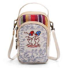 Crossbody bags for travel three interlayers canvas shoulder bags girls mini crossbody bags 6.0#8221; phone purse for iphone 7p #crossbody #bags #crossbody #bags #in #canada #crossbody #bags #pinterest #crossbody #bags #primark