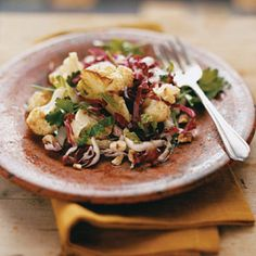 Roasted Cauliflower and Radicchio Salad Photo - Cauliflower Recipe ...