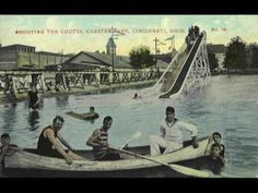 Postcard: The Chutes, Chester Park, Cincinnati, Ohio -- Antique Price Guide Details Page Relaxing Gif, Relaxing Music, Classic Video, Types Of Music, Popular Music, Motown, Listening To Music, Chester, Music Is Life