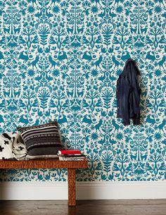 Papel tapiz otomí | Casa Haus