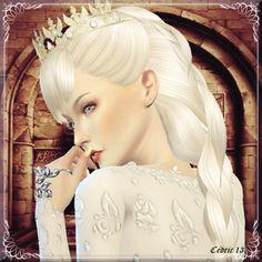 Sims 4 Updates: L'univers de Nicole - Sim Models, Females : Guenièvre by Cedric13, Custom Content Download!