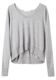Alexander Wang  / Merino Cropped Pullover