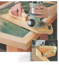 Ah! E se falando em madeira...: gabarito para tupia, como fazer no blog