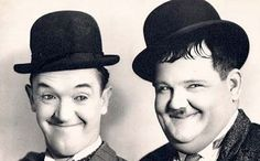 Laurel and Hardy -Well known to film buffs today as a duo of true friends. They were vaudevillians, in countless silent films together and separate, before teaming up in 1927, and remained together until Hardy's death in 1957, appearing in a lot of films