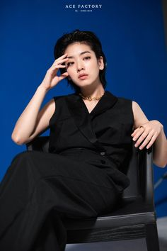 Korean Girl, Asian Girl, Lee Joo Young, Kim Book, Shot Hair Styles, Poses References, Just Girl Things, Korean Actresses, Ulzzang Girl