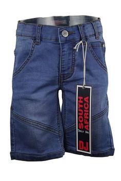 DJ Dutchjeans South Africa jeans bermuda met zeer goede stretch