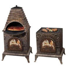Found it at Wayfair - Aztec Allure Pizza Oven Outdoor Fireplace