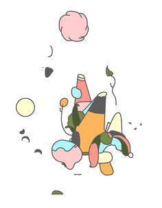 Ori Toor animation loop world psychedelic