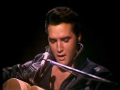 "Elvis Presley - ""Heartbreak Hotel"" (68 Comeback Special) - My God, talk about handsome!"