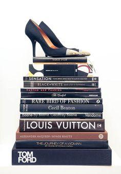 Fashion books decoration