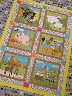 Oink-a-Doodle-Moo Quilt