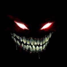 Disturbed by Dunjochka on DeviantArt Aesthetic Art, Aesthetic Anime, Creepy Smile, Scary Eyes, Evil Smile, Heavy Metal Art, Dark Evil, Evil Art, Creepy Art