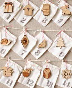 Woodland Ornament Advent Calendar - countdown to christmas
