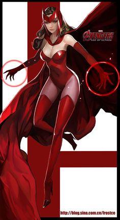 Scarlet Witch by 策 策