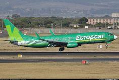 Kulula Boeing 737-86N, Kaapstad, Maart 2014. Europcar titels. ZS-ZWS. Aircraft Pictures, Photo Art, Aviation, Africa, Aircraft