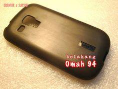 Jual Silikon Soft Case Samsung Galaxy S3 Mini i8190 Hitam (Black) | Toko Online Rame | KODE BARANG : 1578