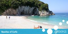 Guide to the 57 best Corfu beaches. We propose a description for every beach but also photos, maps, reviews, sightseeing and more information.