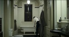 Frank and Claire Underwood's Bathroom
