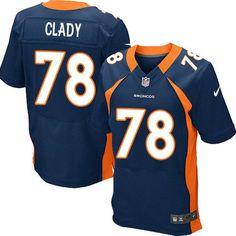 5571f7f1a0c Ryan Clady Elite Jersey-80%OFF Nike Ryan Clady Elite Jersey at Broncos Shop