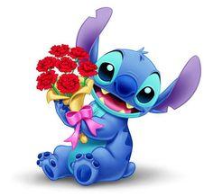 I'd be fine with Stitch as my Valentine! ❤