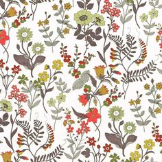 Designed by renowned children's illustrator Quentin Blake for the Spring Summer 2011 collection, Lola Weisselberg is a beautiful Floral print.100% Cotton Tana Lawn