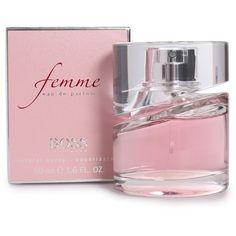Boss By Hugo Boss Perfume Boss Femme Edp 50 Ml ($110) ❤ liked on Polyvore
