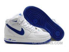 http://www.getadidas.com/nike-air-ce-1-mid-sneakers-blue-white-for-sale.html NIKE AIR CE 1 MID SNEAKERS BLUE WHITE FOR SALE Only $54.45 , Free Shipping!