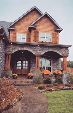 Architecture Discover Plan This Plan Exudes Tradition Plan Country Traditional Premium Collection Photo Gallery Craftsman Luxury Narrow Lot House Plans & Home Designs Future House, My House, House Floor, House Yard, Cottage House, Style At Home, Narrow Lot House Plans, Villa, House Goals