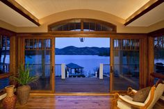 Private Residence, Lake George, Hague, NY | Phinney Design Group, Saratoga Springs, NY #lakegeorge