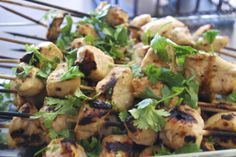 """Point-less"" Meals: Honey Lime Chicken Skewers"