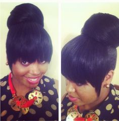 Excellent Buns Bangs And Chinese On Pinterest Hairstyle Inspiration Daily Dogsangcom