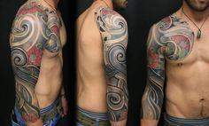 Maori:Japanese Laced Sleeve