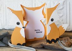 Fox Fold-a-Long Card: A Fun & Foxy DIY!