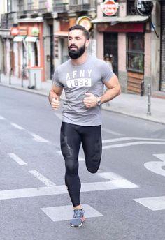 Sport fashion, mens fashion, gym fashion, gym gear, workout clothes f Sport Fashion, Mens Fashion, Gym Fashion, Lycra Men, Lycra Spandex, Gym Outfit Men, Mens Tights, Athletic Gear, Gym Gear