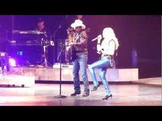 Photos and video: Brad Paisley surprises Carrie Underwood at Nashville concert #BradPaisley