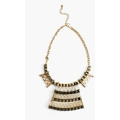 Relic Collar Necklace ($15) ❤ liked on Polyvore
