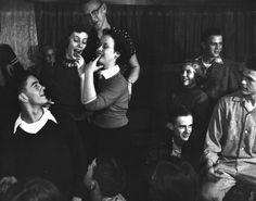 Teenage party in the 50s