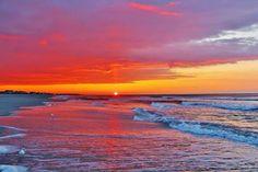 Holden Beach, NC sunset