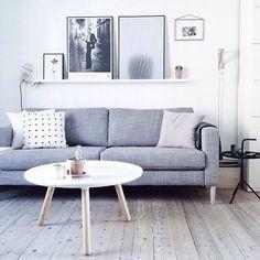 sala estilo nórdico