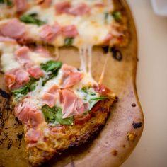 Cauliflower pizza crust  #GlutenFree