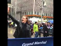 Sam Heughan, Jamie Fraser in the Starz series Outlander, is the Grand Marshal of the 2016 New York Tartan Day Parade. Video by Outlander Starz