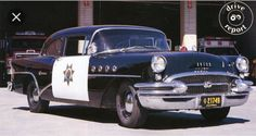 """1955 Buick from the tv show  """"Highway  Patrol""""  Aired from 1955-1959"""