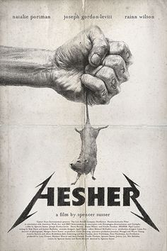 hesher poster by jeremy saunders