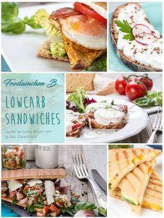 Froilainchen B. Sandwich-Rezepte LOWCARB  Mittlerweile ist das Sandwich einer der Snack-Klassiker überhaupt. Auch wir Lowcarbler müssen nicht in leere Brotdosen schauen. Meine unzähligen Sandwich-Rezepte lassen erst gar keine Langeweile aufkommen. Jeder Bisse mit gutem Gewissen.