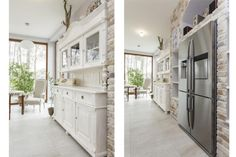 Eintreten und Wohlfühlen – weiße #Möbel machen den Empfang zu Hause immer heimelig und behaglich. #wohnen #küche #einrichten #möbel #lifestyle #countrystyle #skandinavisch #wohnideen #weißemöbel #küchenmöbel #landhausmöbel #landhausstil
