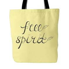 'Free Spirit' Tote Bag