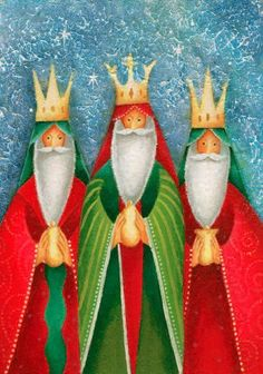 retro 3 kings christmas cards | xmas card kings | Brand new Christmas Card designs for 2011 « The EPT Christmas Nativity, Christmas Art, All Things Christmas, Christmas Decorations, Christmas Drawing, Christmas Paintings, Vintage Christmas Cards, Xmas Cards, Les Trois Rois Mages