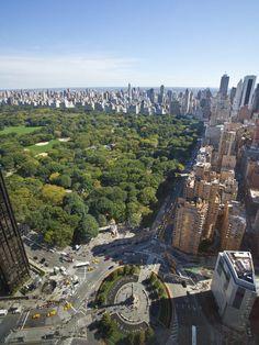 Central Park & Upper East Side from Time Warner Center
